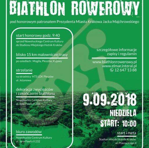 Nowohucki Biathlon Rowerowy